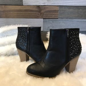 Rampage Studded Ankle Booties